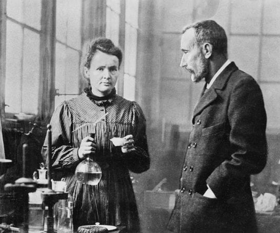 Marie ve Pierre Curie