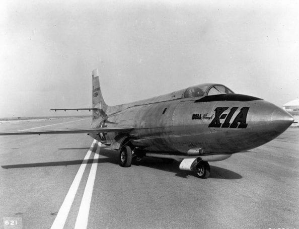 Ses hızını aşan ilk süpersonik uçak; Bell X-1
