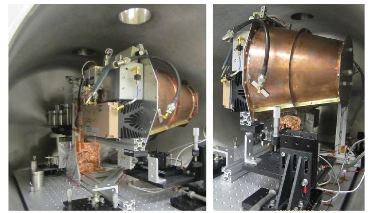 Vakumdan RF (radyofrekans) ile yaratılan itki ölçümü düzeneği
