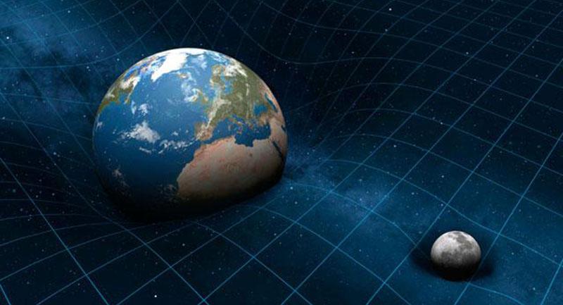 General relativity spacetime curvature