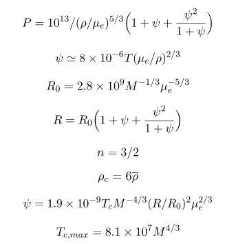 Yıldızlarda Minimum ve Maksimum Kütle 2