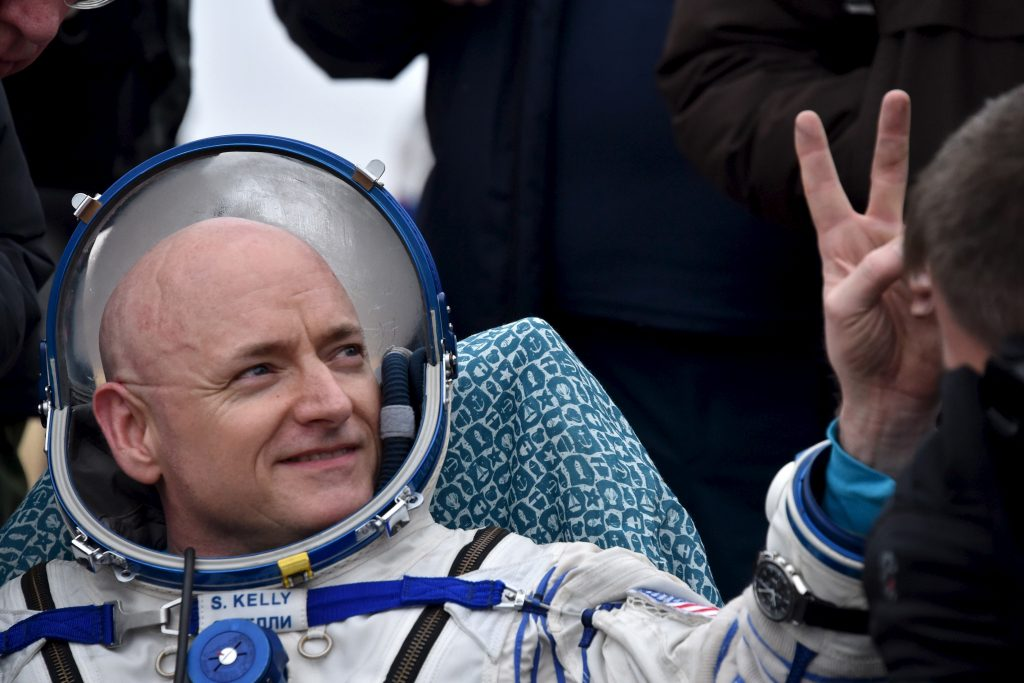 Scott Kelly, 2 Mart 2016, Kazakistan