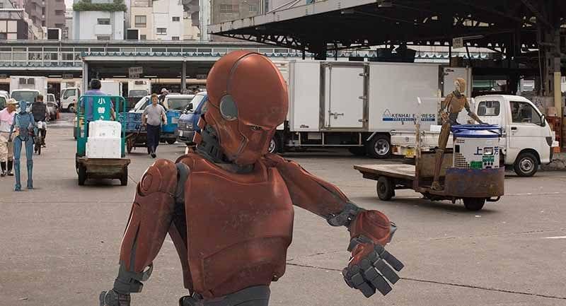 automation robot kapak