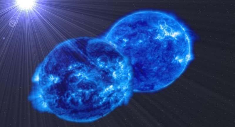 fast rotating binary star kapak