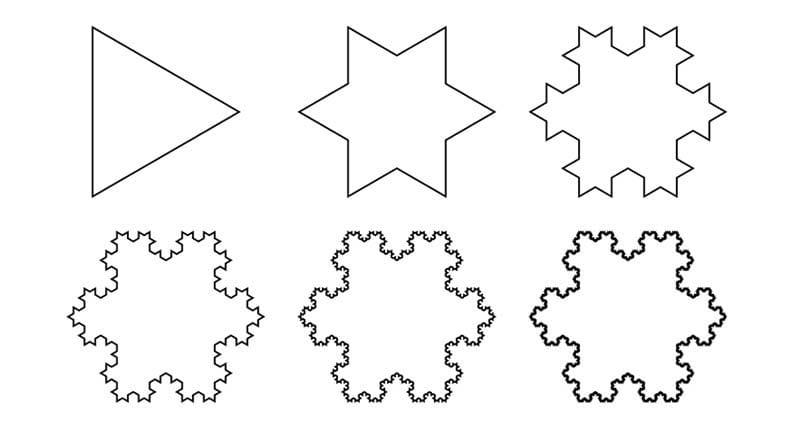 koch snowflake cover