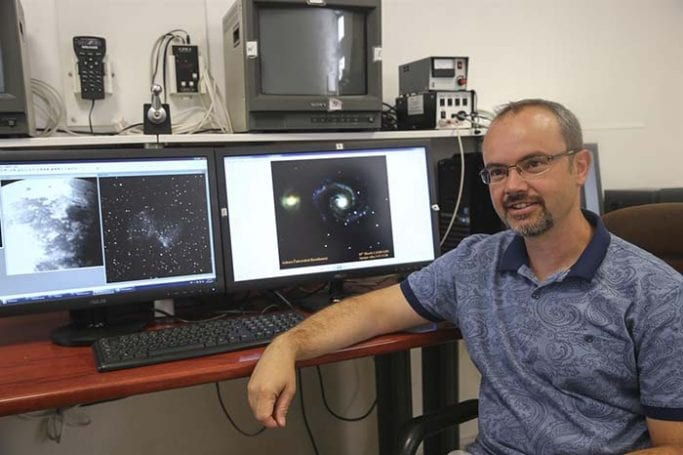 Ankara Üniversitesi Astronomi ve Uzay Bilimleri Bölümünden Mesut Yılmaz