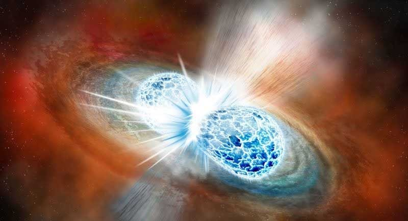 Nötron Yıldızı Çarpışması Şimdiye Kadarki En Büyük Nötron Yıldızını Oluşturmuş Olabilir!