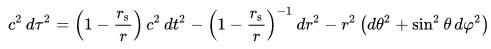 Schwarzschild metriği