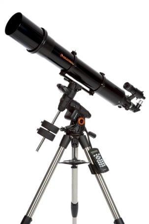 Mercekli (refraktör) türübir teleskop
