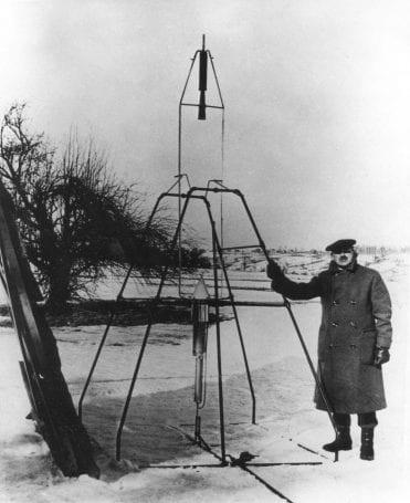 Goddard ve ilk sıvı yakıtlı roketi (1926)