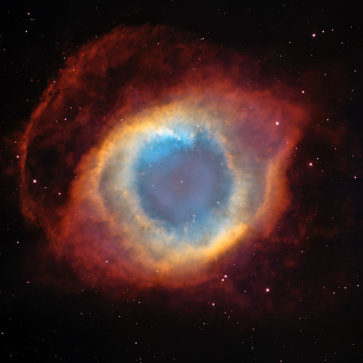 Photo of Helis Bulutsusu (NGC 7293)
