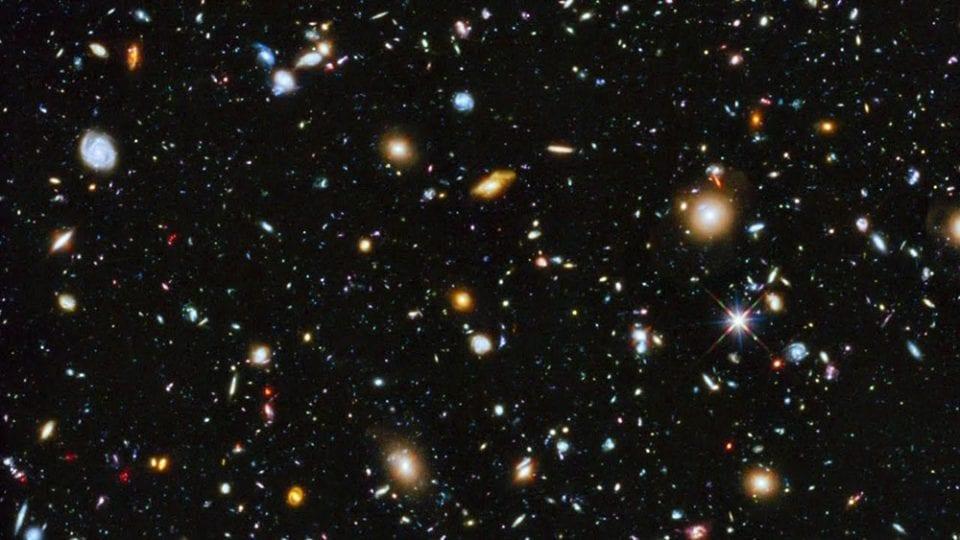 Hubble ultra deep field 2