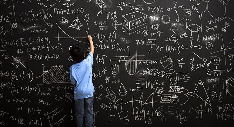 kid math formula blackboard small Kalkülüs: Ortalama Değer Teoremi