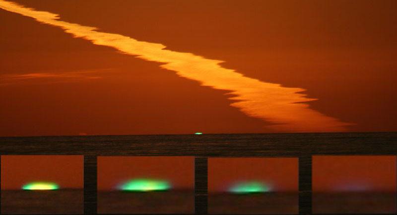 Photo of Güneş'ten Gelen Yeşil Parlama