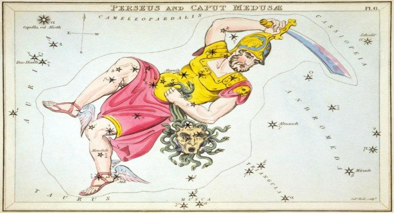 Kahraman Takımyıldızı ve tasviri