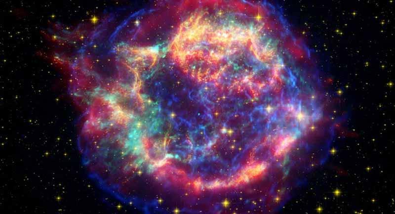 Photo of Bir Süpernova Patlaması Canlı Canlı Görüntülendi!