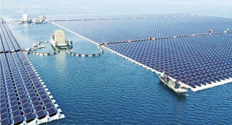 """Photo of Dünyanın En Büyük """"Yüzen Güneş Enerji Santrali"""" Artık Devrede"""