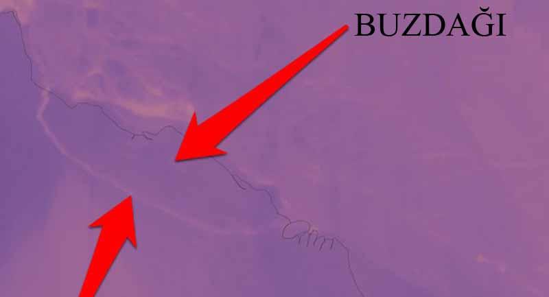 Photo of 1 Trilyon Tonluk Buzdağı Antarktika'dan Koptu!