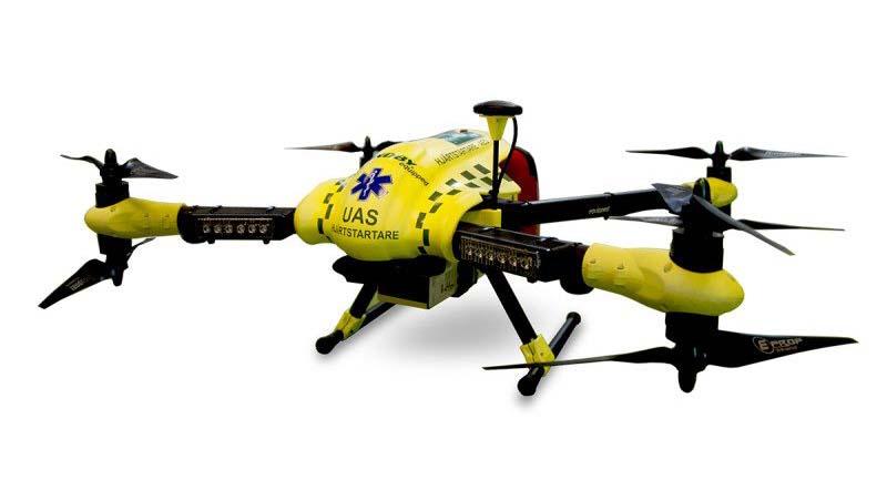 Photo of Defibrilatör Drone'lar Ambulans Gelmeden Önce Hayat Kurtarabilir