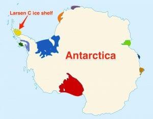 antartika haritası
