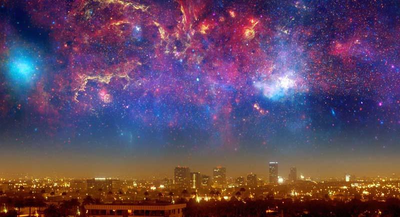 universe city space nebula cover Evrenin Yoğunluğu Ne Kadardır ve Nasıl Hesaplanır?
