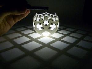 3d printed stereographic projection Yurtdışından 3D Yazıcı Almak