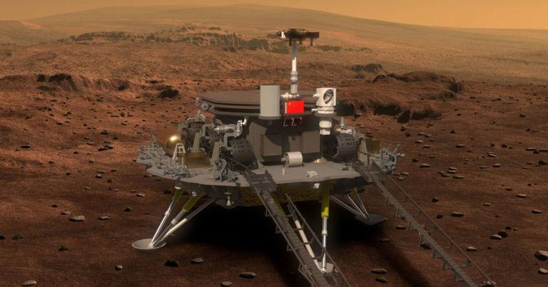 Photo of Çin Mars'a Araç Gönderiyor!