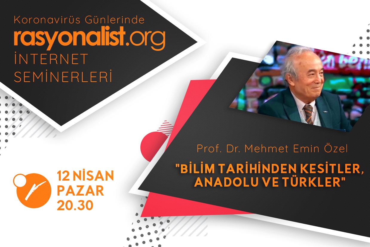 Photo of İnternet Seminerleri | Prof. Dr. Mehmet Emin ÖZEL