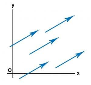 birbirine eşit vektörler