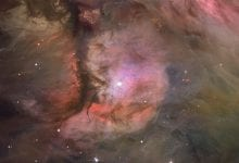 200706 M43 Dust Gas and Stars in the Orion Nebula NASA ESA Hubble HLA Bryan Goff Günün Astronomi Görseli (APOD/NASA) - 06/07/20