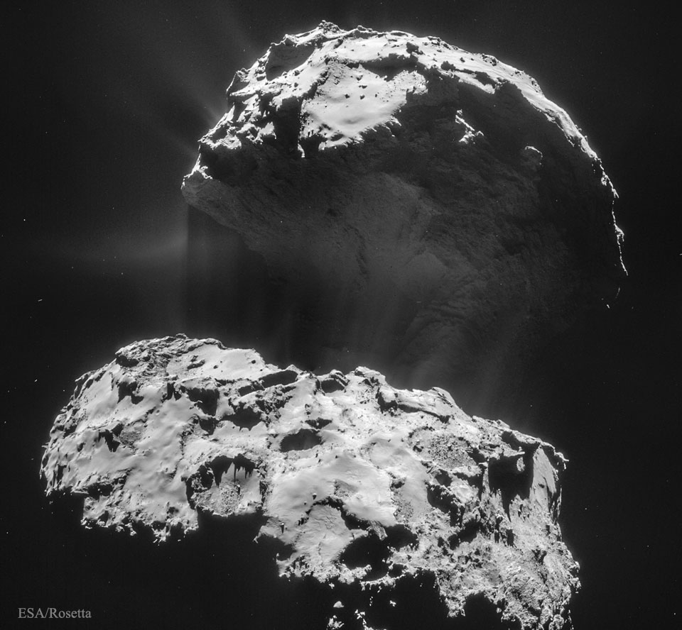 200712 Comet CG Creates Its Dust Tail Günün Astronomi Görseli (APOD/NASA) - 12/07/20
