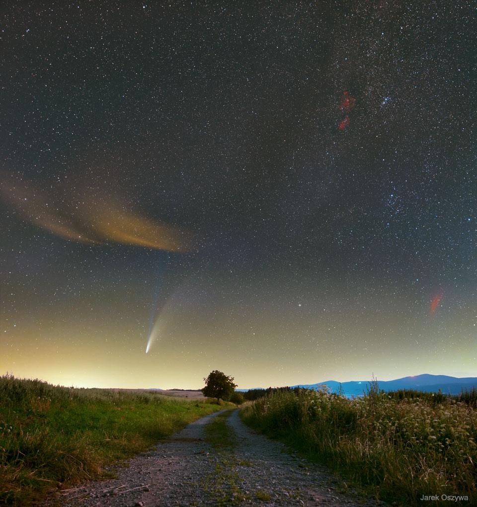 NASA GAG APOD NEOWISE Kuyruklu Yıldız