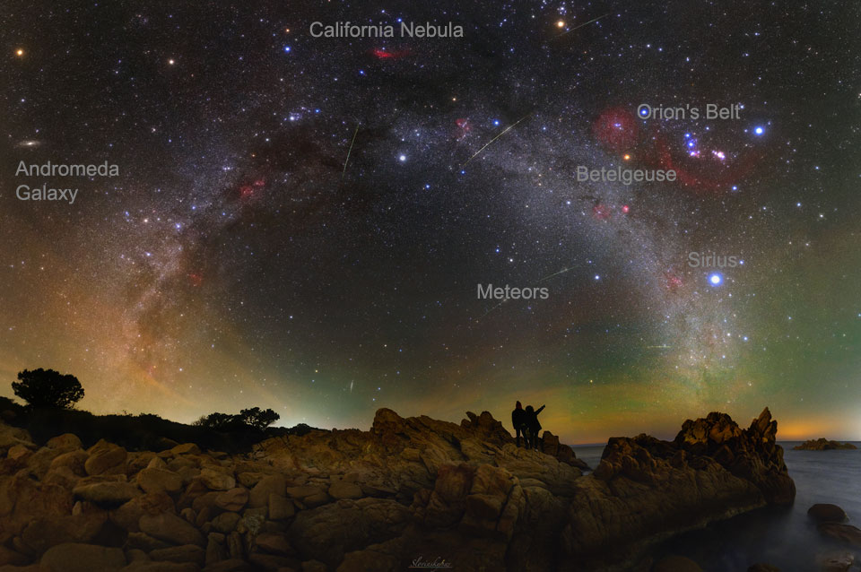 201021 A Night Sky Vista from Sardinia Tomas Slovinsky Günün Astronomi Görseli (APOD/NASA) | 21/10/20