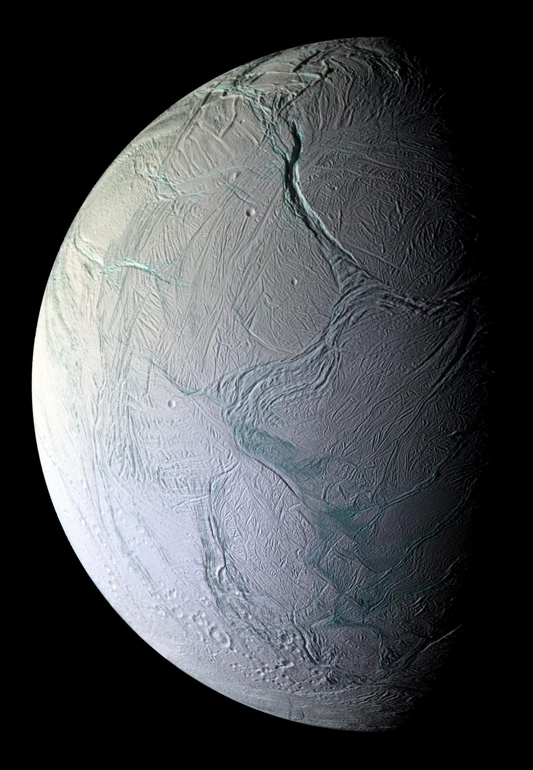 satürn uydusu satürn'ün uydusu enceladus