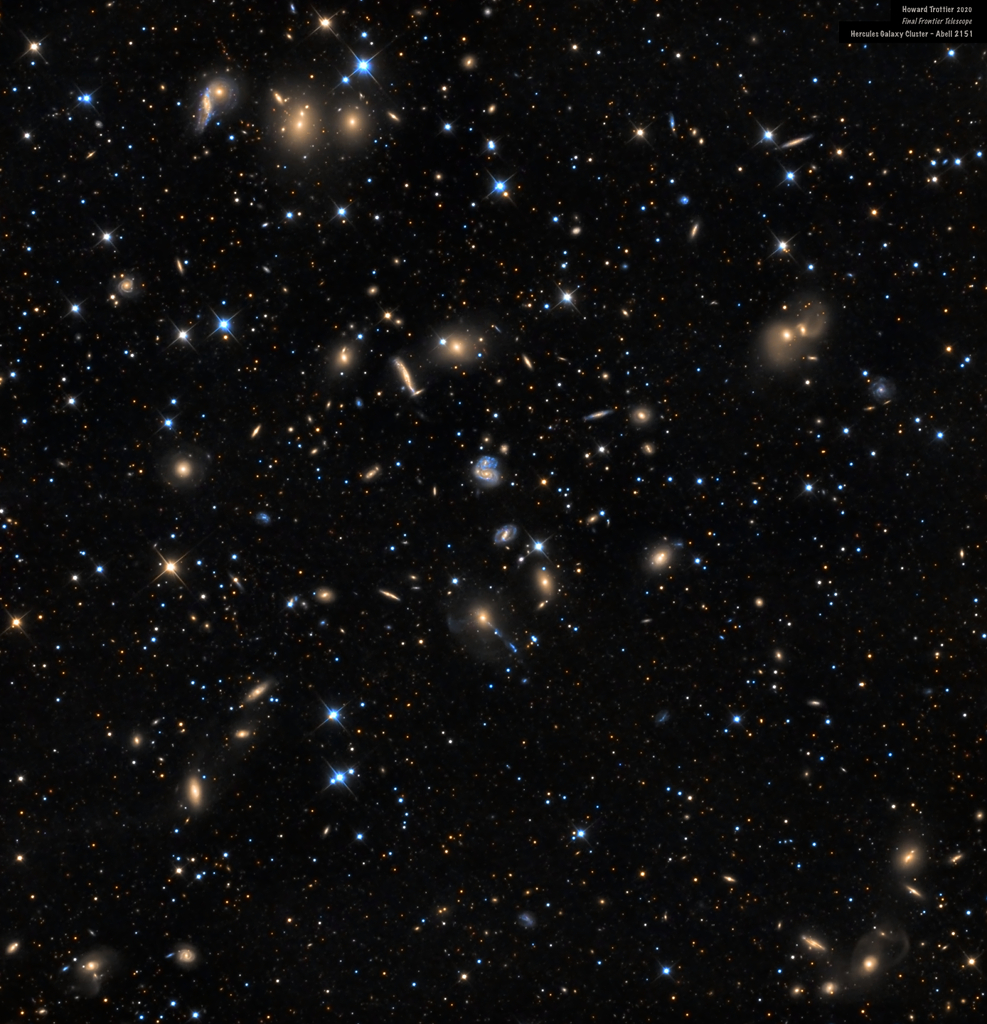 201107 The Hercules Cluster of Galaxies Howard Trottier Günün Astronomi Görseli (APOD/NASA) | 07/11/20